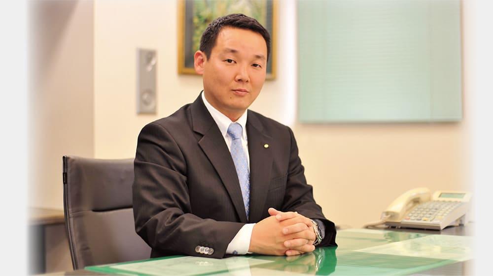 代表取締役社長 馬場宏二郎